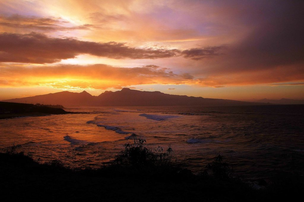 Makena Beach Sunset